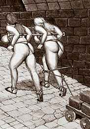 Keep pushing that stick up her ass - Prison camp by Badia