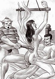 Sex slaves - he likes to see your wrinkly little asshole when he gives you dick by Leandro
