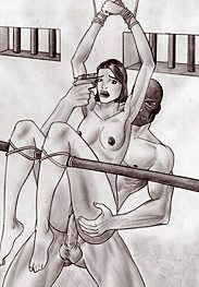 Sex slaves - move that asshole round, damn you, you big cunt by Leandro